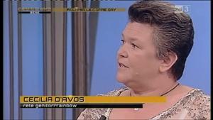 Cecilia d'Avos a RAI3 - 23 agosto 2012