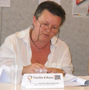 Cecilia d'Avos - tavola rotonda Europride 2011