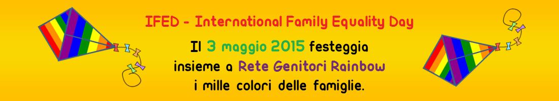Rete Genitori Rainbow per IFED 2015