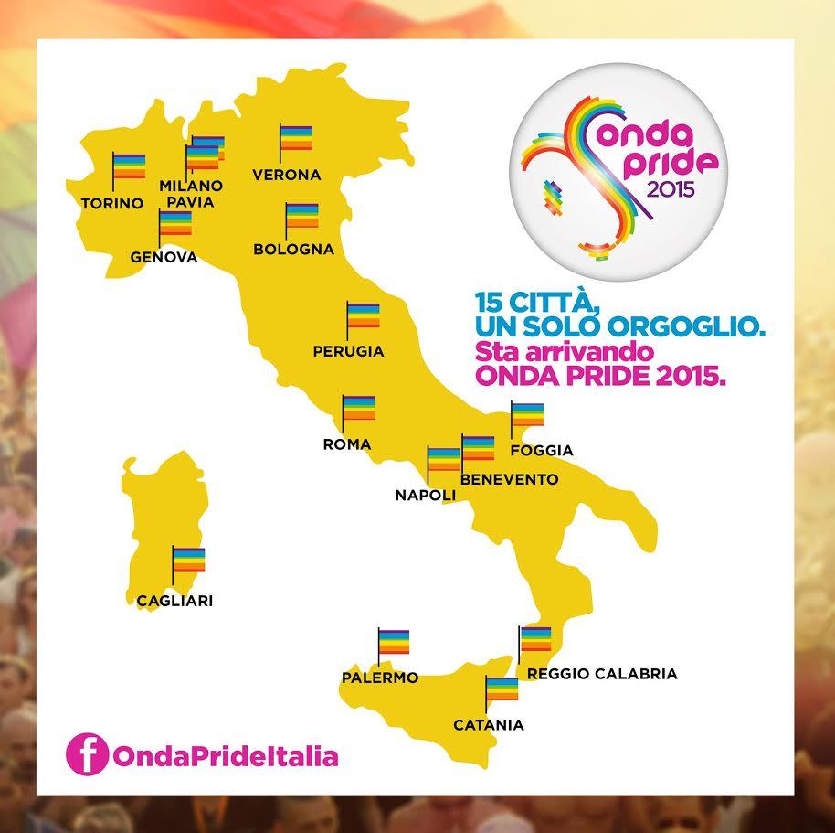 Mappa Onda Pride 2015
