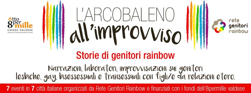 Ciclo di eventi:  L'arcobaleno all'improvviso, storie di genitori rainbow