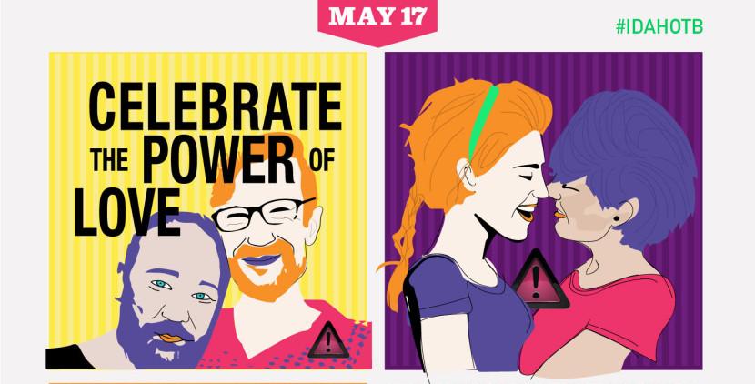 IDAHOBIT 2018 – Giornata internazionale contro l'omofobia, la bifobia e la transfobia